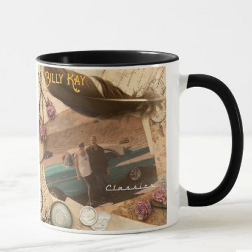 Billy Kay Classics CD Cover Ceramic Coffee Mugs