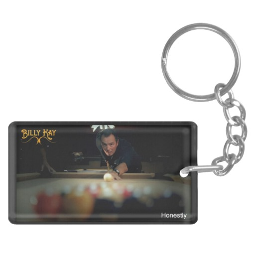 Honestly by Billy Kay Music Video Rectangle Keychains