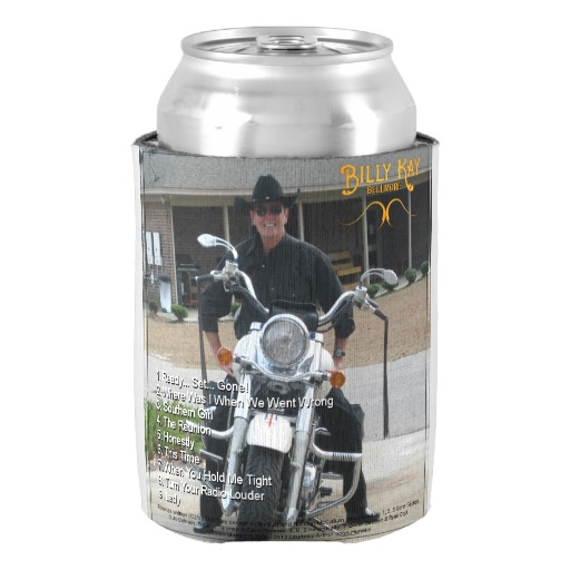 Bellmore by Billy Kay Back Cover Can Cooler Koozies