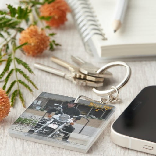 Bellmore Back Cover Acrylic Keychains