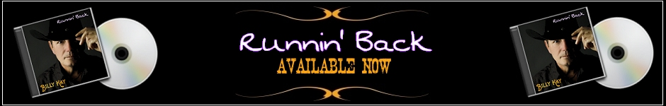 Runnin' Back Available from Billy Kay Music