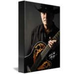 Billy Kay Official Cowboy Guitar Canvas Prints