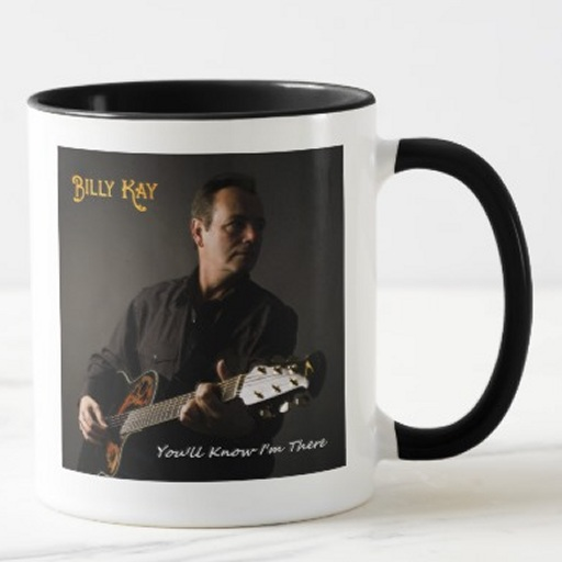 You'll Know I'm There CD Front Cover Ceramic Coffee Mugs