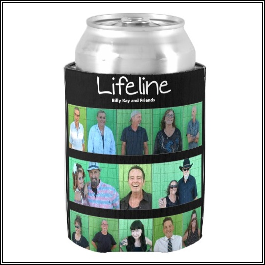 Lifeline CD Cover Can Coolers