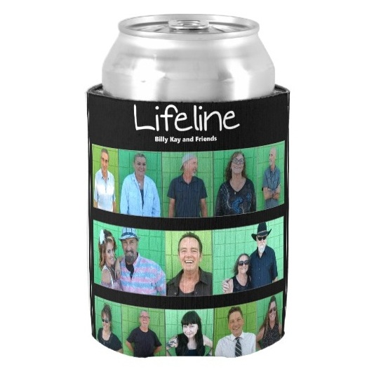 Lifeline CD Cover Foam Can Coolers