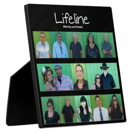 Lifeline CD Cover Easel Back Frameless Photo Plaques