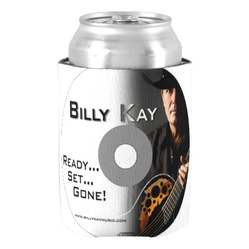 Ready...Set... Gone! CD Cover Can Cooler Koozies
