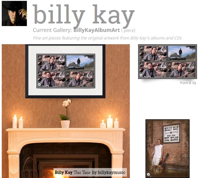 This Time Billy Kay Collage Fine Art Prints
