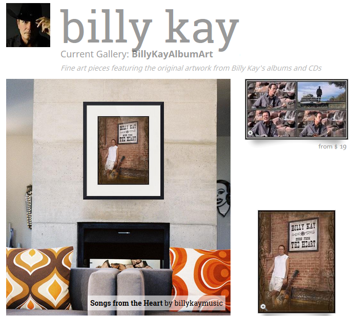 This Time Billy Kay Songs from the Heart Fine Art Prints
