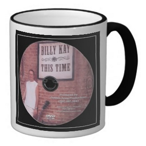 This Time CD Cover Ceramic Coffee Mugs
