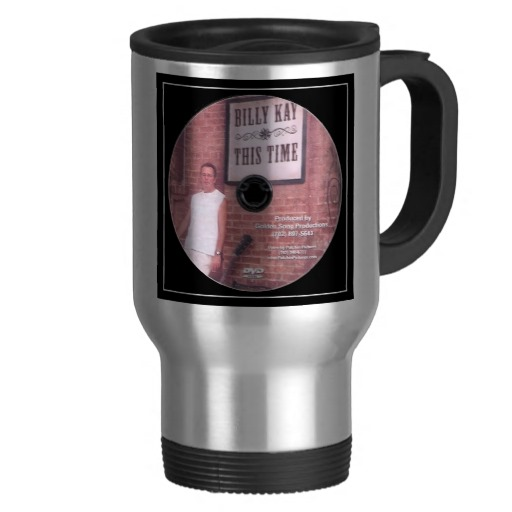 This Time CD Cover Travel Mugs