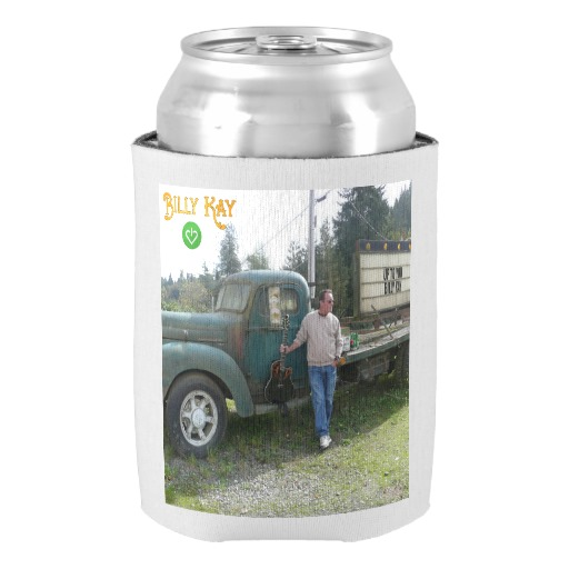 Up to You CD Cover Can Cooler Koozies