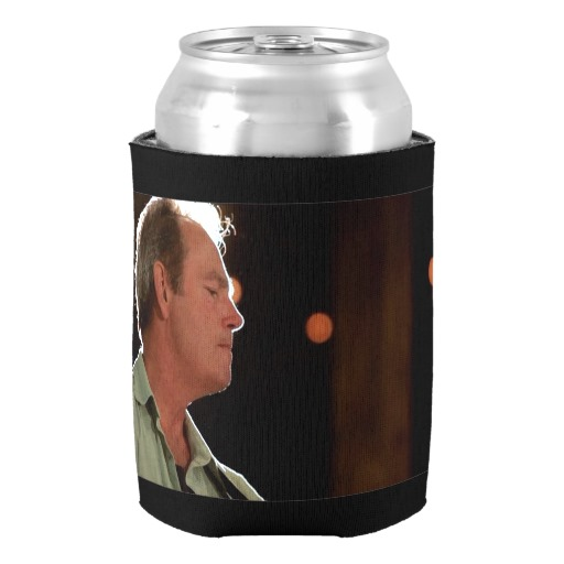 Billy Kay Official Blue Shirt Can Cooler Koozies