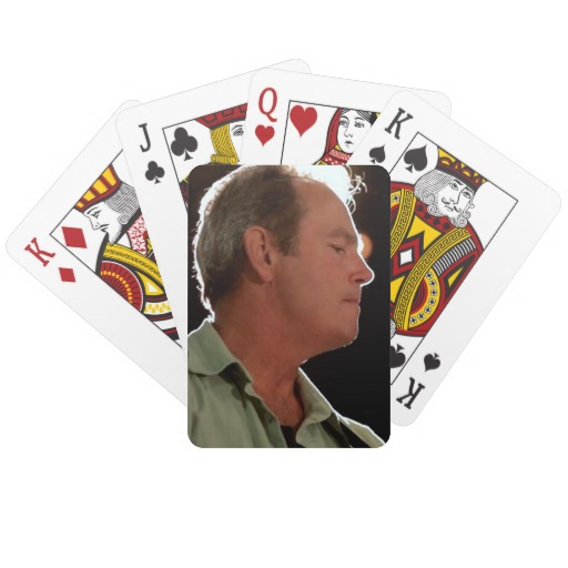 Billy Kay Official Blue Shirt Playing Cards