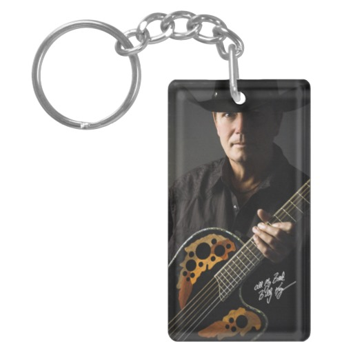 Billy Kay Official Cowboy Guitar Acrylic Keychains