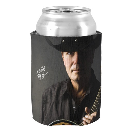 Billy Kay Official Cowboy Guitar Can Cooler Koozies