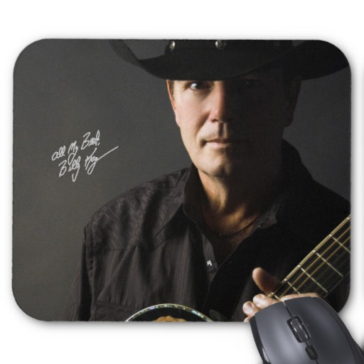 Billy Kay Official Cowboy Guitar Mousepads