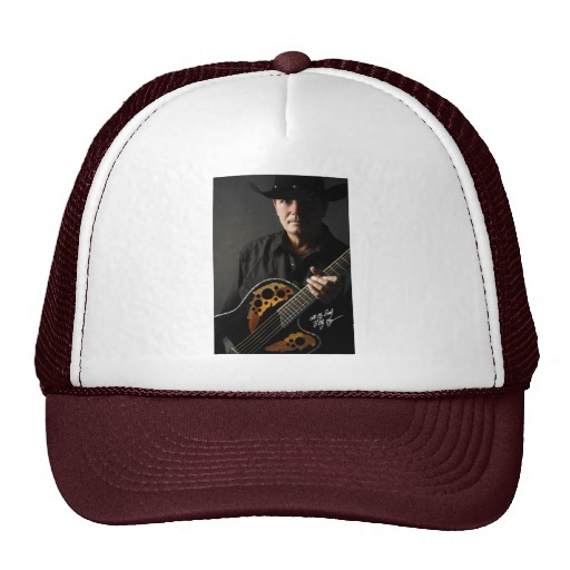 Billy Kay Official Cowboy Guitar Trucker Hats