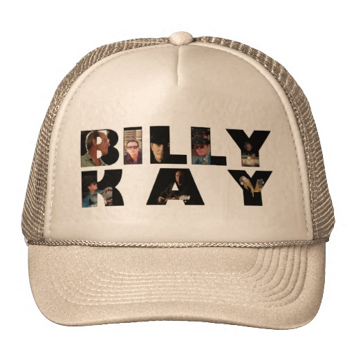 Billy Kay Official Photo Tour Logo Trucker Hats