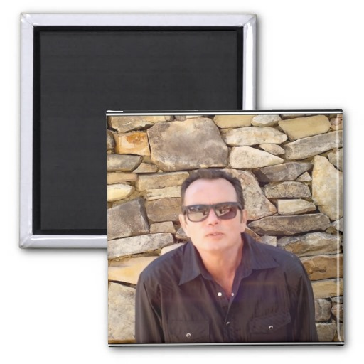 Billy Kay Official Stone Wall Square Magnets