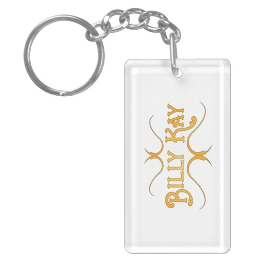 Billy Kay Official Yellow Logo Acrylic Keychains