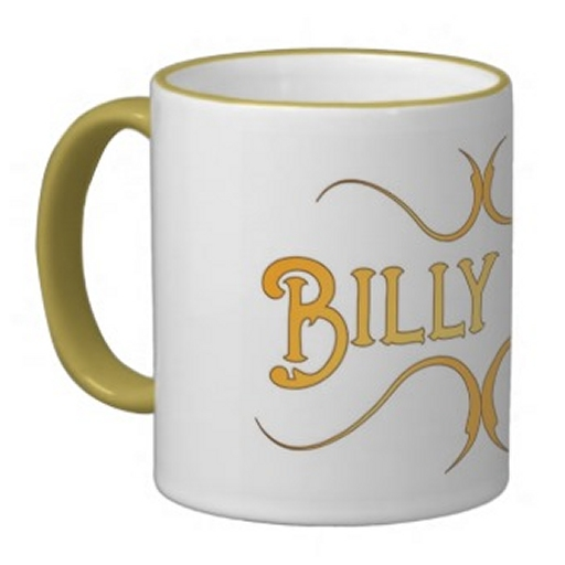 Billy Kay Official Yellow Logo Coffee Mugs