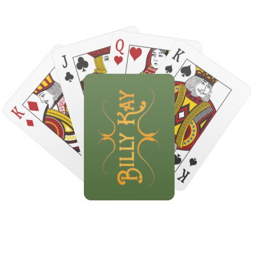 Billy Kay Official Yellow Logo Playing Cards