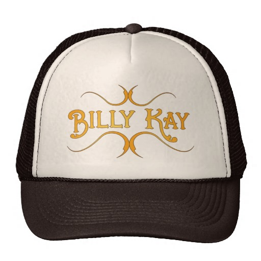 Billy Kay Official Yellow Logo Trucker Hats